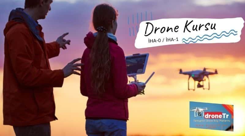 Drone Eğitimi Kursu iha0 iha1 Drone Lisansı