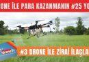 Drone ile para kazanmak için 25 iş fikri, #3 Drone ile zirai ilaçlama yapmak | www.DroneTR.net