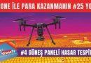 Drone ile para kazanmak için 25 iş fikri, #4 Drone ile güneş paneli hasar tespiti yapmak | www.DroneTR.net