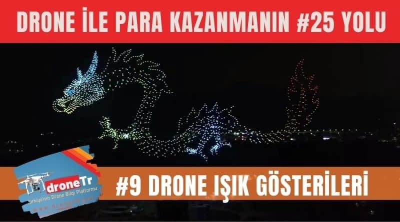 Drone ile para kazanmak için 25 iş fikri, #9 Drone ışık gösterileri organizasyonları gerçekleştirmek | www.DroneTR.net