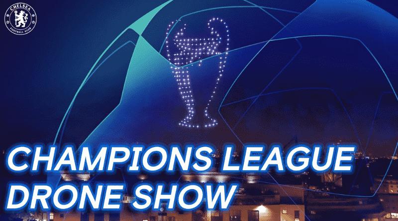 Şampiyonlar Ligi Şampiyonu Olan Chelsea Şampiyonluğunu Drone Gösterisi İle Kutladı