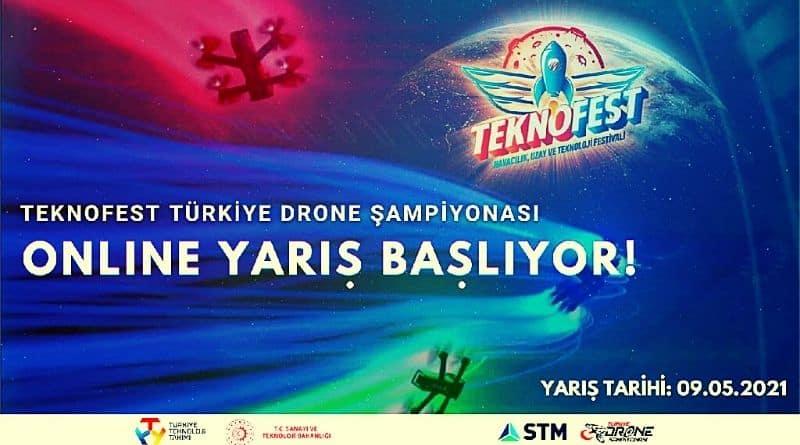 Türkiye Drone Şampiyonası 2021 Teknofest Online Etap 9 Mayıs 2021