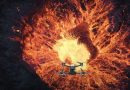 FPV Drone İle Lav Püskürten Yanardağın İçine Doğru Uçtu