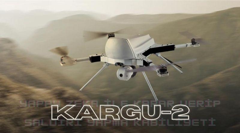 Yapay zeka İle Saldırı Yapan Drone Kargu-2