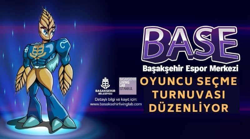 Başakşehir BASE Espor Takımı Ödüllü Oyuncu Seçme Turnuvaları Düzenliyor