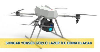 Silahlı Drone Songar, Lazerle Bomba İmhaya Edecek
