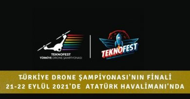 Türkiye Drone Şampiyonası'nın Finali 21-22 Eylül'de Atatürk Havalimanı'nda Yapılacak
