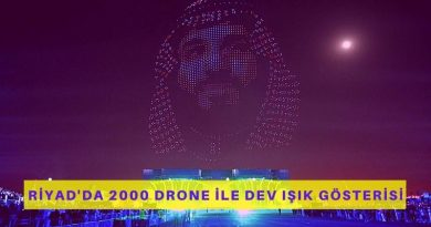 Riyad Sezonu Açılış Etkinliğinde 2000 Drone İle Dev Işık Gösterisi Yapıldı