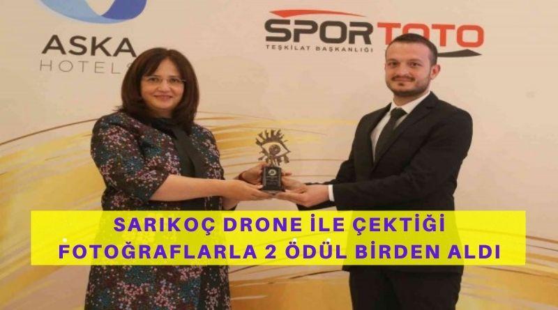 İHA Muhabiri Sarıkoç, Drone İle Çektiği Fotoğraflarla 2 Ödül Aldı