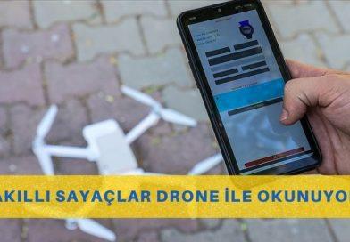 Su Sayaçları Artık Drone İle Okunuyor
