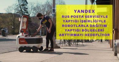 Robotlarla Yemek Siparişi Götüren Yandex, Rusya Postasıyla Yaptığı İşbirliği Sayesinde Hizmet Verdiği Bölgeleri Arttırmayı Hedefliyor